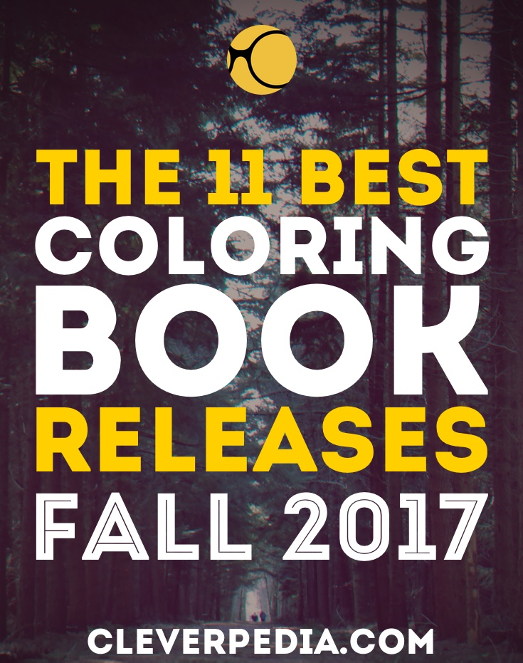 Hottest new coloring book releases in fall 2017! I'm loving all these new indie coloring books this month, and the Brothers Grimm themed books!