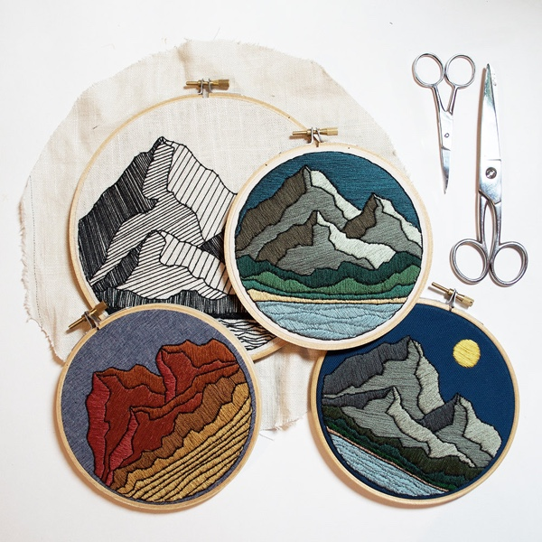75 Modern Embroidery Kits For Beginners Cleverpedia