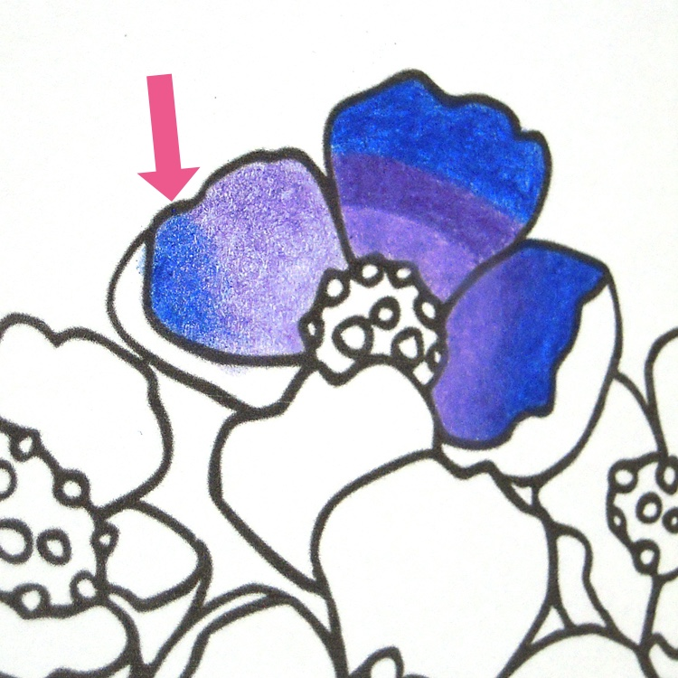 Colored pencil blending techniques: How to burnish with a white pencil