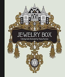 Featured new coloring book release: Jewelry Box Coloring Book by Hanna Karlzon