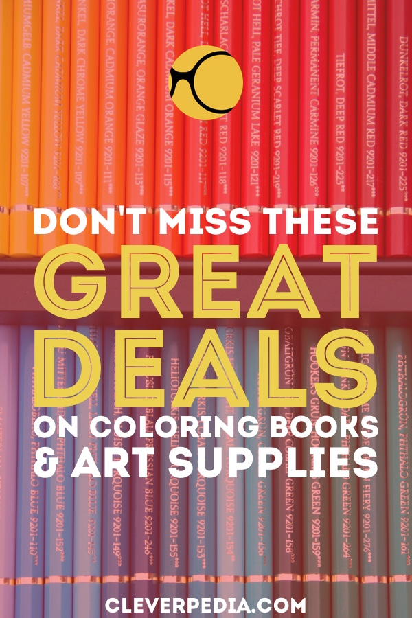 The Best Deals on Coloring Books & Art Supplies - Cleverpedia