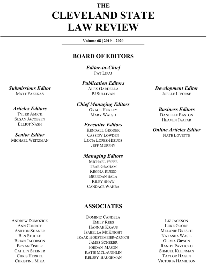 2019 - 2020 _ Editorial Board (1)