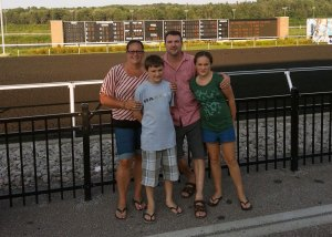 Family Support - Family outing to the race track