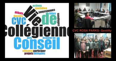 Le CVC (Conseil de Vie Collégienne) 2017/2018