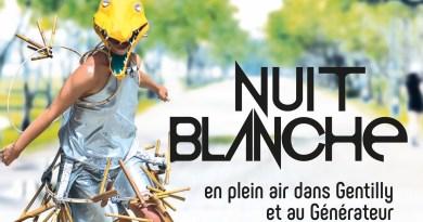 SAMEDI 3 OCTOBRE 2020 : Nuit blanche 2020
