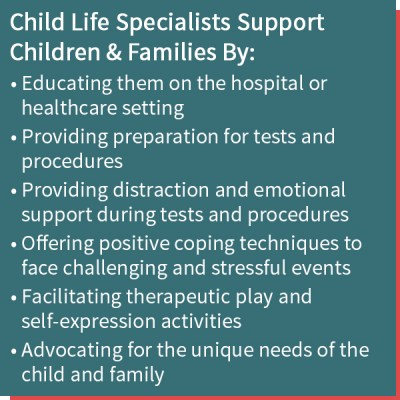 Child Life for Parents & Families