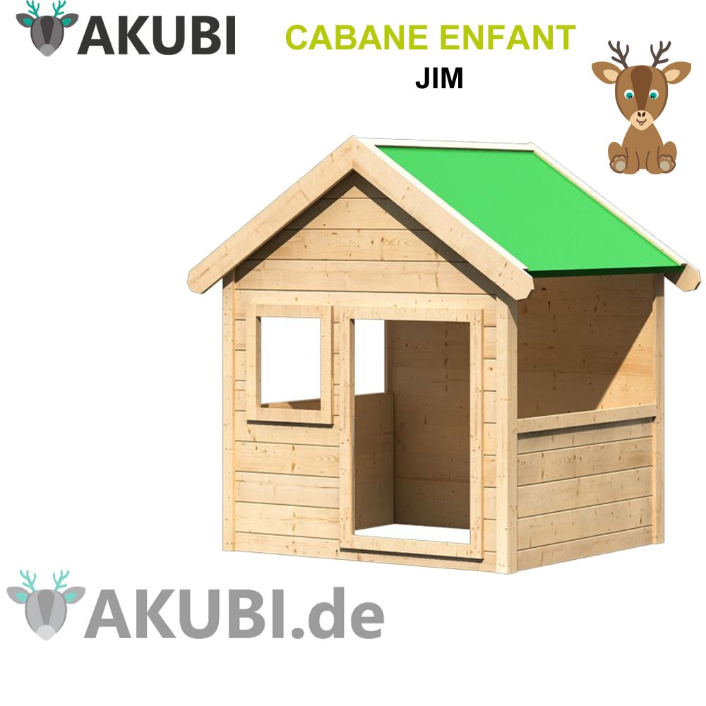 cabane en bois enfant jim