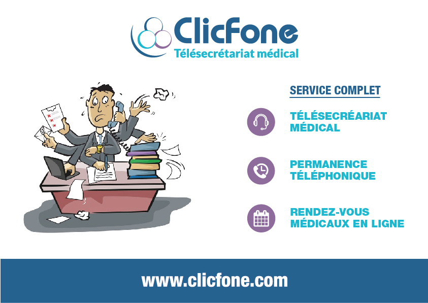 ClicFone Secrétariat distance Marmande