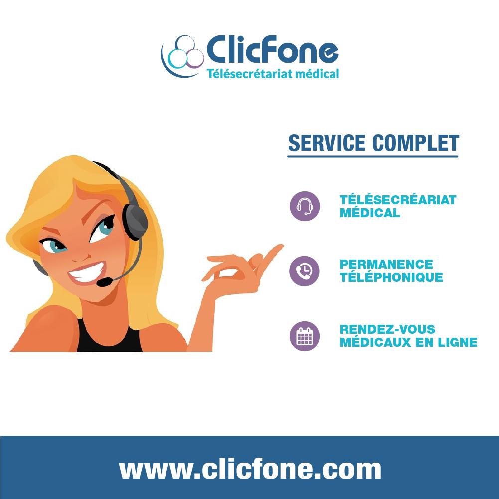 ClicFone Télé-secrétariat Nantes