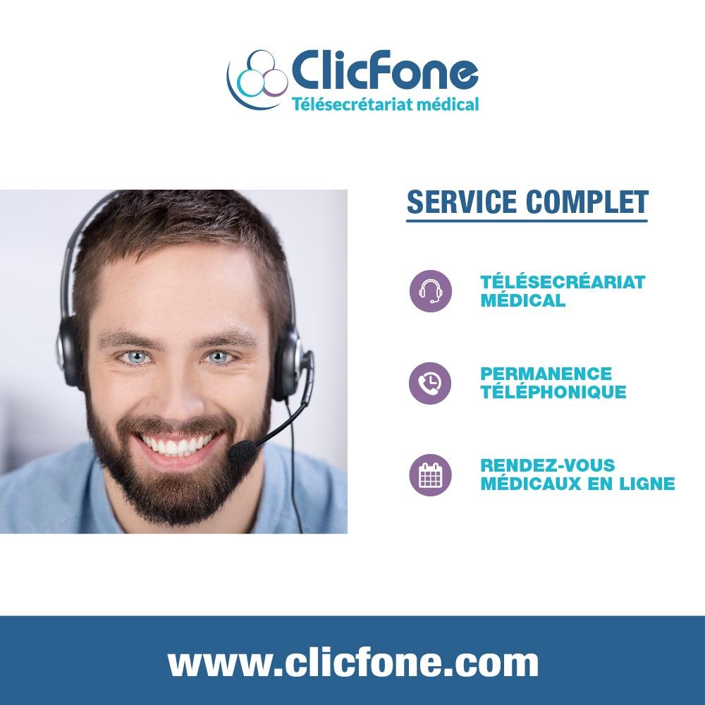 ClicFone Télésecrétariat Tarnos
