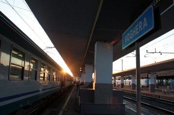 ヴォゲーラ駅で乗り換え
