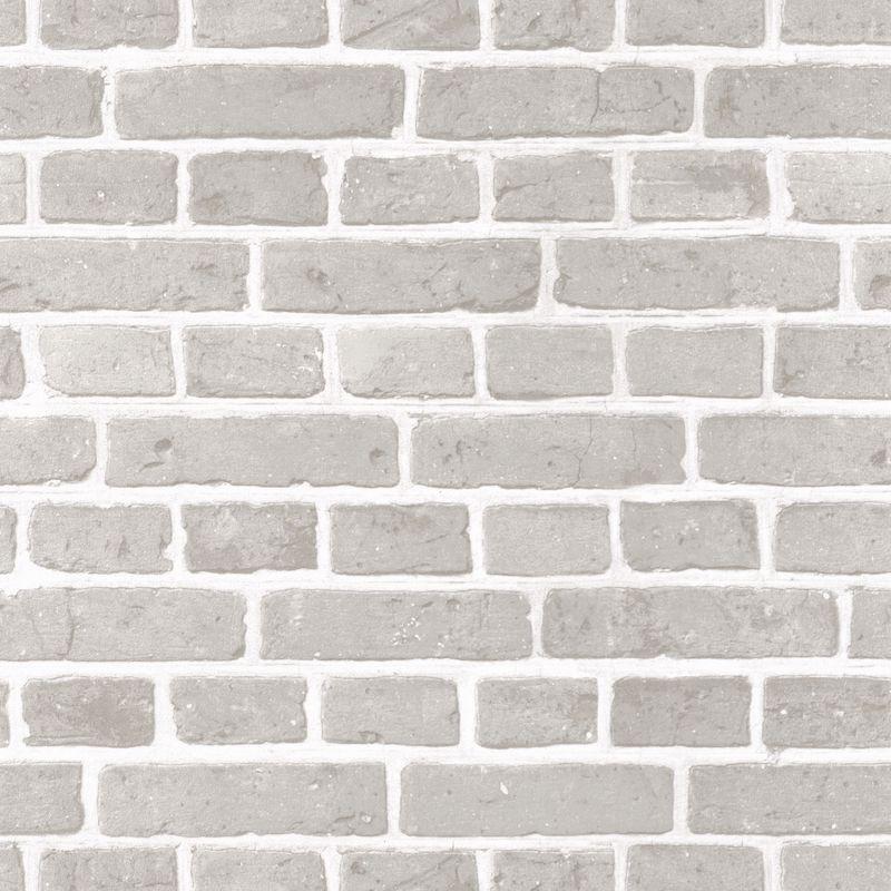 papier peint briques grises au bistrot d alice caselio