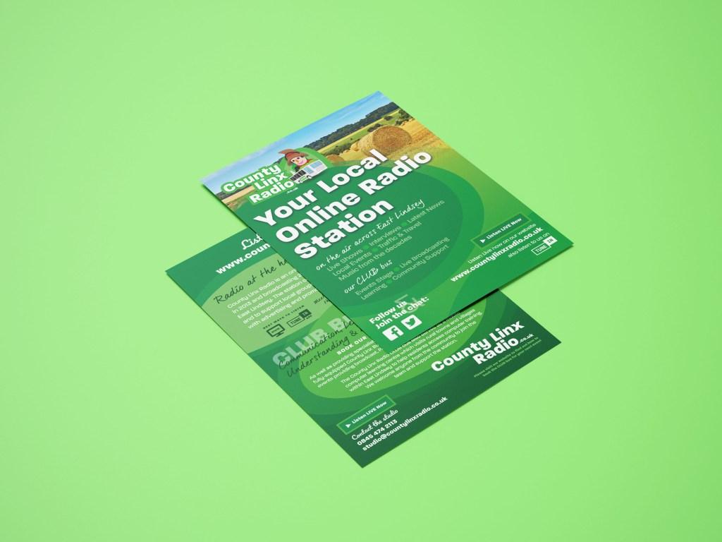 County Linx Flyer Design