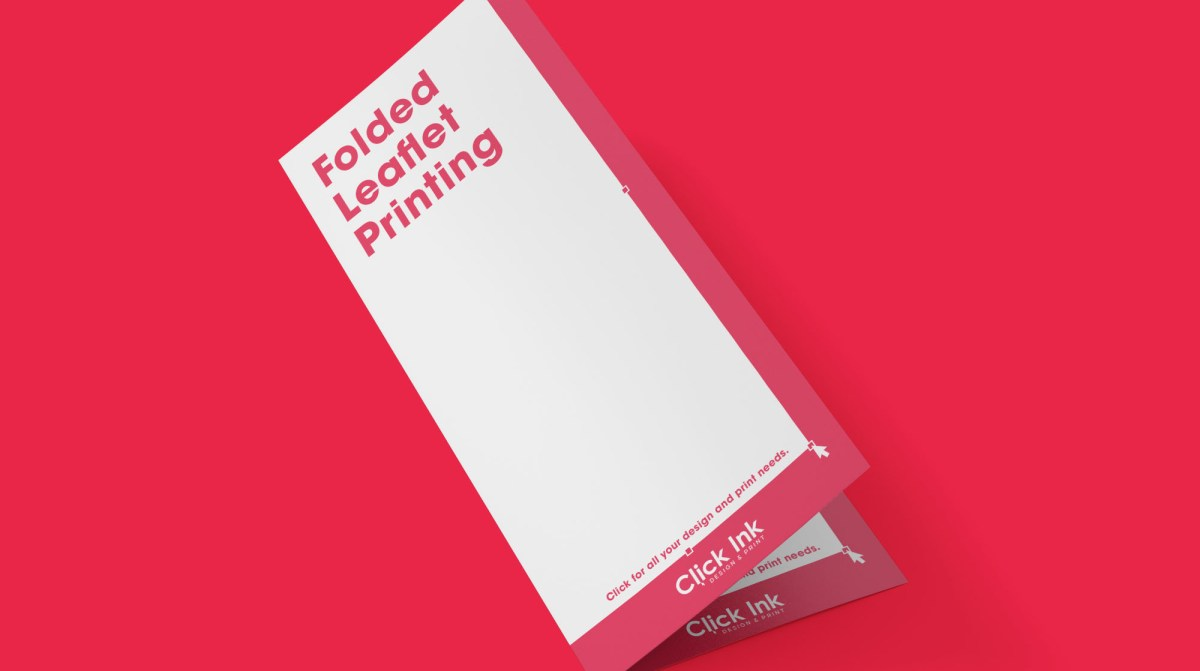 Folded Leaflet Printing in Skegness