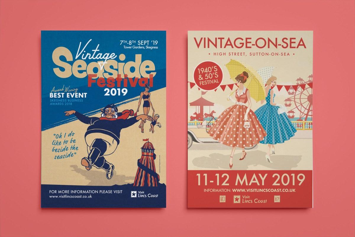 Vintage Event Flyer Designs