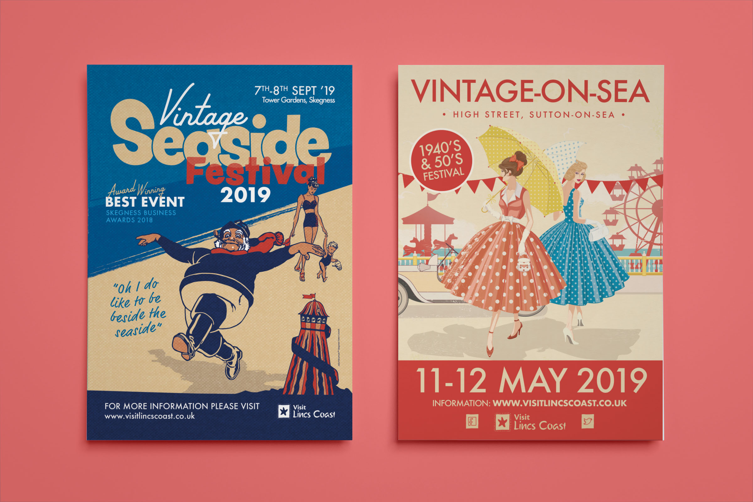 Vintage Event Flyer Designs