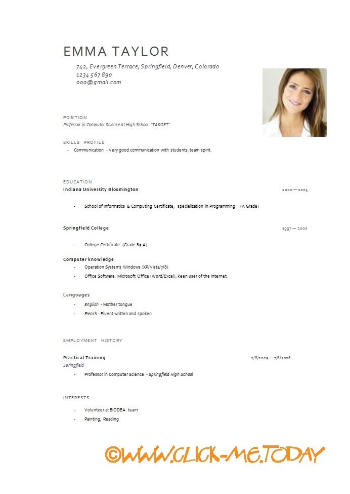 Resume Example Of Resume In English Pdf latest cv format download pdf will resume examples in english frizzigame professional samples pdf