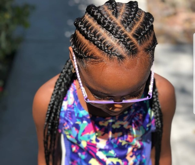 Braided Hairstyles For Kids  Hairstyles For Black Girls