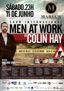 cartaz novo Men at work