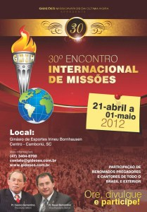 Gideoes 2012 Cartaz