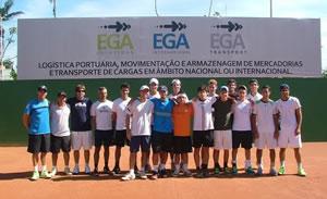 ADK Tennis terá vários tenistas nos torneios - Foto Marcelo Roggia