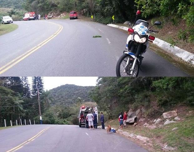 acidente interpraias