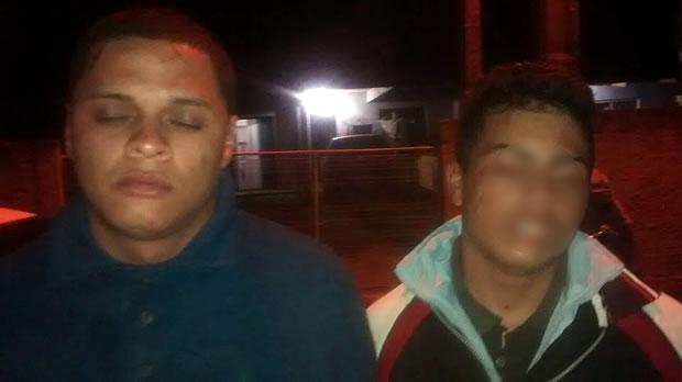 ronaldo e adolescente