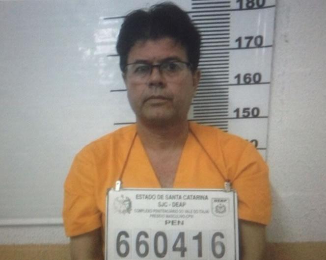 José Alvercino Ferreira quando foi preso pela primeira vez.