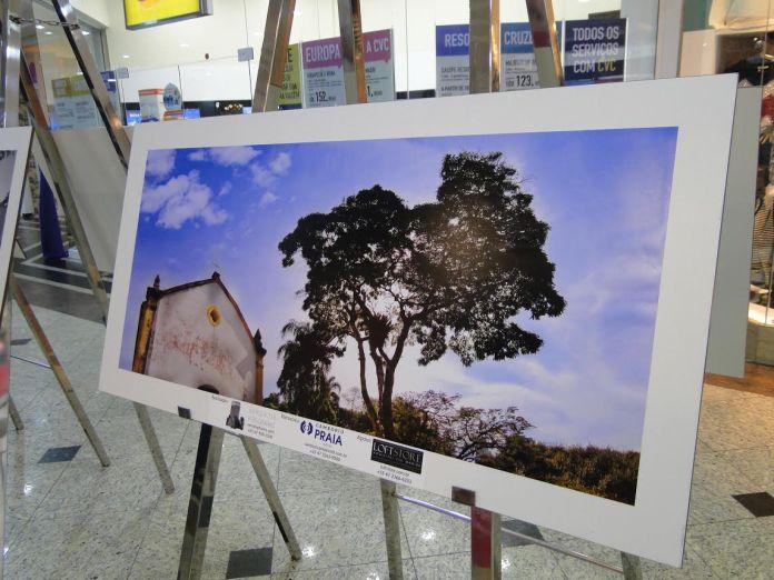 Exposição homenageia Balneário Camboriú no Atlântico Shopping