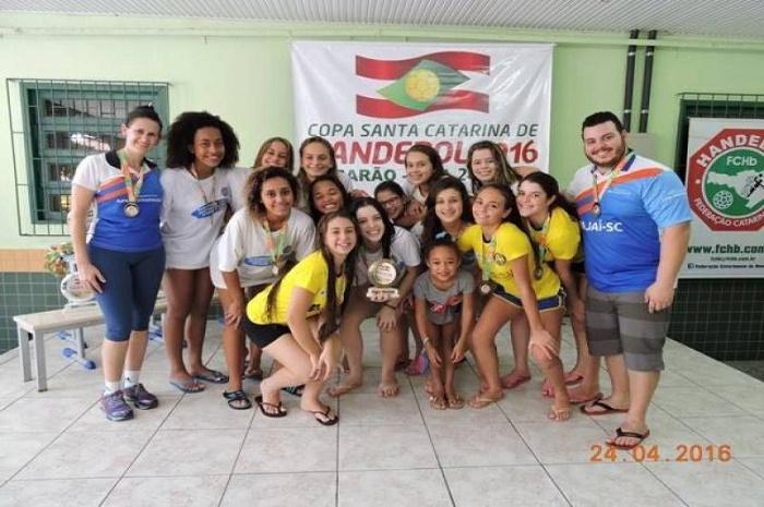 Itajaí participa do Campeonato Estadual Cadete de Handebol