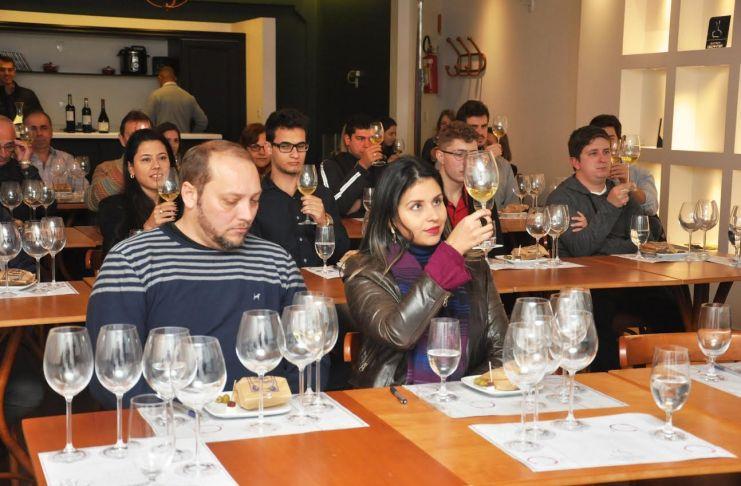 palestra sobre vinhos