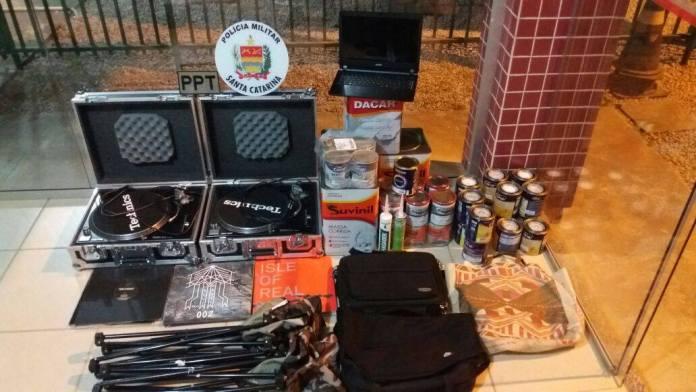 produtos furtados