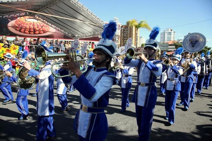 Desfile de 7 de setembro itajaí
