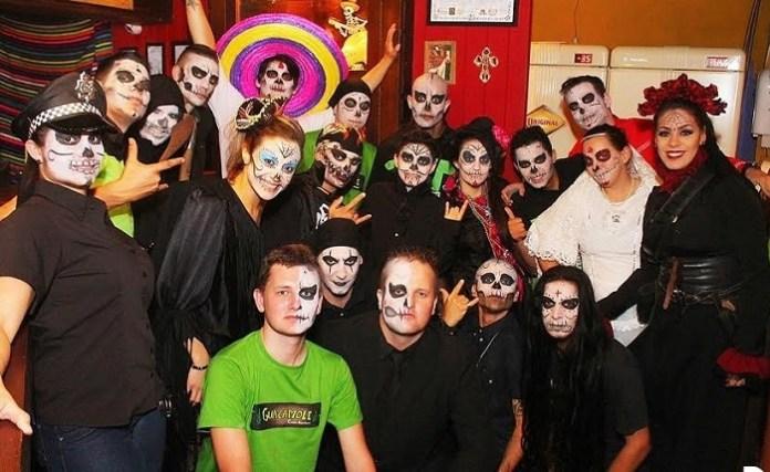 Guacamole Dia de Los Muertos