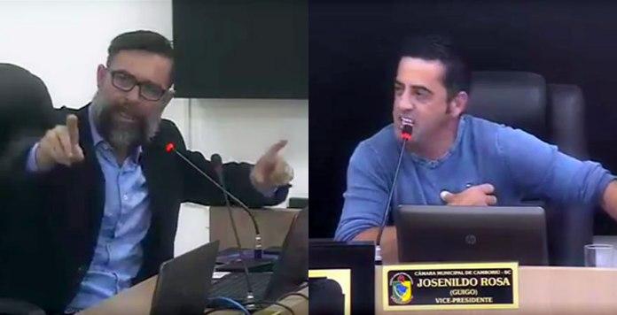 Ângelo Gervásio e Guigo.