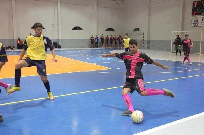 Equipes participam da última rodada da fase de classificação do Citadino de Futsal