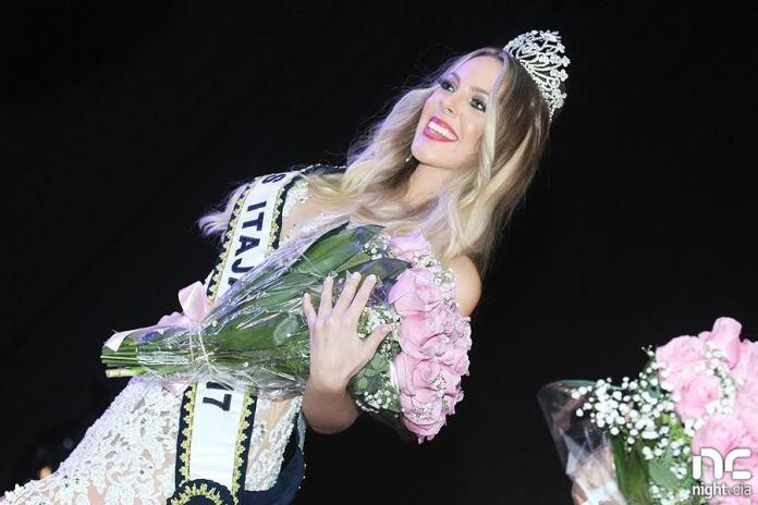 Miss Itajaí Anissa Marie Cunha