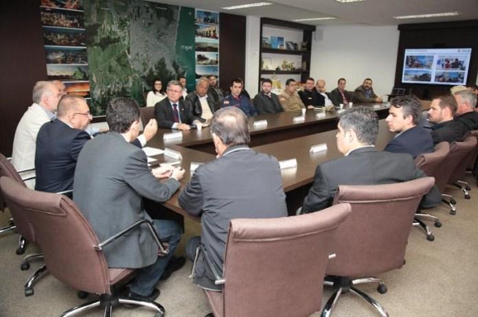 Prefeito apresenta as ações do primeiro semestre de governo para entidades