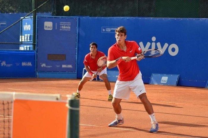 Tenistas Orlandinho e Marcelo são campeões em dupla na Itália