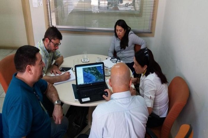 Comitiva da Costa Rica visita Superintendência do Porto de Itajaí