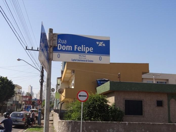 BINÁRIO rua dom felipe