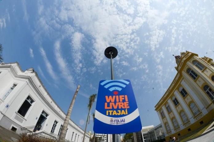 Novos pontos Wi Fi Livre disponíveis em Itajaí