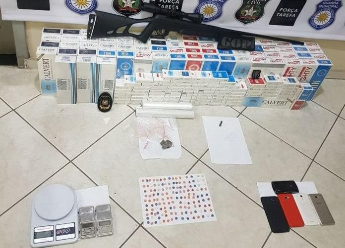 Força Tarefa prende três e apreende 140 comprimidos de ecstasy