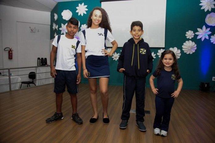 novo uniforme rede municipal de Ensino itajai