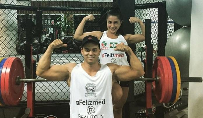 Atletas de Camboriú participam de campeonato internacional de levantamento de peso