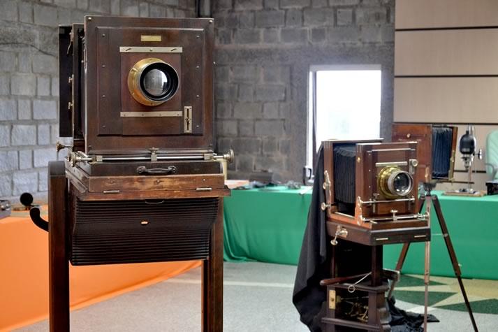 Exposição sobre história do som e da imagem