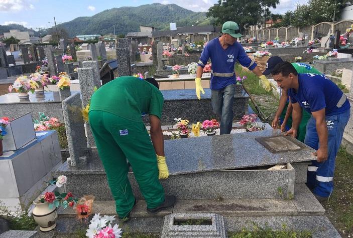 Cemitério Exumações Divulgação 4