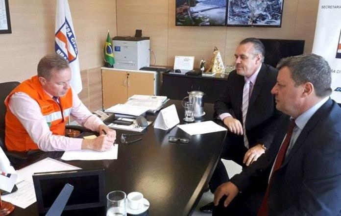 Defesa Civil Nacional reconhece decreto de emergência