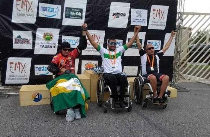 Paratleta de Camboriú conquista a prata em prova de handbike