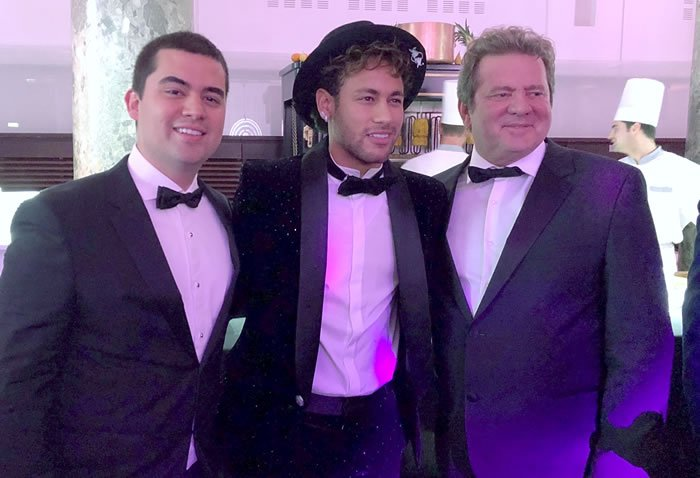 Pasqualotto e Neymar